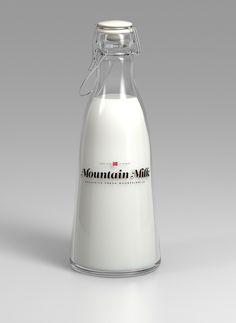 Tine Melk   Mountain Milk on the Behance Network