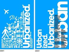 The official Urbanized Poster | Swiss Legacy