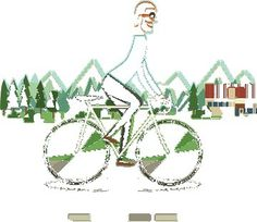 Monocle 78 - Oslo Feature on Behance #cycle #bike