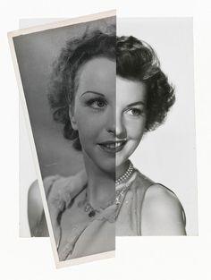 John Stezaker, She (Film Portrait Collage) II2008 collage
