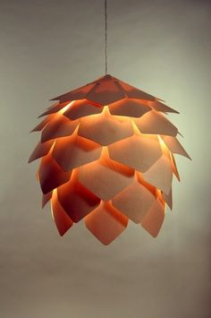 OSOMO (Лампа Crimean pinecone от Павла Eekra) #lamp #pinecone