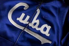 Doubleday & Cartwright #jacket #cuba #embroidery #nike #blue
