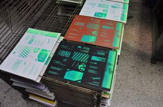 in tind we trust / random business card print / Ver 2.0 #print #layout #color #neon #card