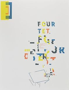 FFFFOUND! | fourtet.jpg (475×622) #layout #music #color