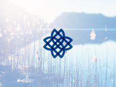 MarkeyCancerFoundation_Bullhorn #logotype #logos #flower #floral #kentucky #nature #cancer #nonprofit #logo