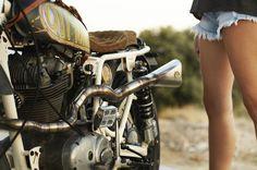 ES Chupito 9 #motorcycle #moto #tracker