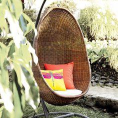 Hanging Egg Chair #tech #flow #gadget #gift #ideas #cool