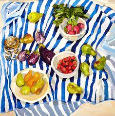 Still Life by Laura Jones - #art, #painting, #fineart