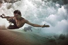 Bajo el agua #art #photography #photo #sea #water #mark tipple
