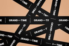 Grand Time — Athletics — A cross-disciplinary creative agency based in New York City