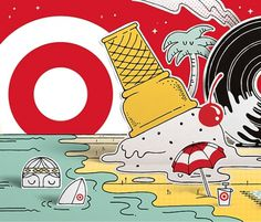 Project: Target / LA Live — National Forest #steven #illustration #target #harrington #forest #national
