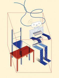Editorial illustrations VII | Studio Patten