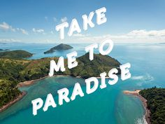 Take me to paradise #roadtripperscom #design #travel #ui