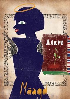 lobke van aar - typo/graphic posters #van #illustration #aar #handmade #poster #lobke #typography