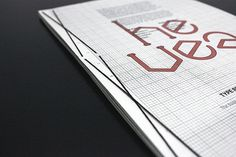 Hevea Process Manual on Typography Served #print
