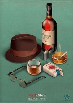 Pixel Noir #mad #poster #men
