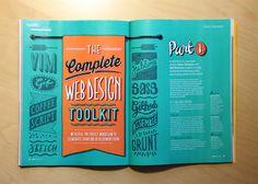 Net Magazine on Behance #magazine