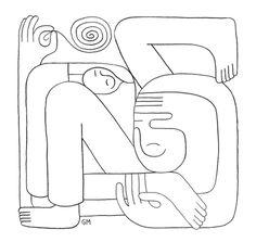 Art, Drawing, Illustration, Geoff McFetridge