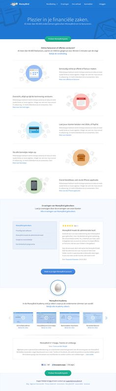 MoneyBird #minimalist #design #web