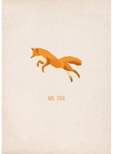 Mr Fox - poster