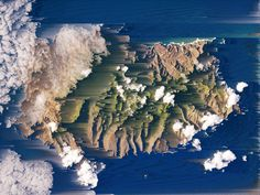 . #land #glitch #aerial #cloud