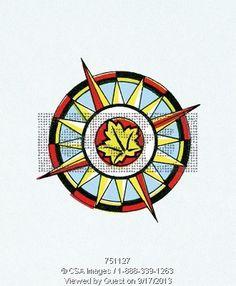 Leaf compass #compass