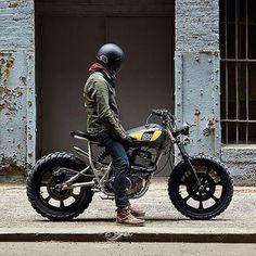 Yamaha SR500 #moto