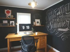 My Workspace by Molly Jacques #calligraphy #typography #workspace