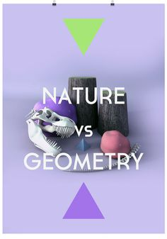 naturevsgeometry_01 #geometry #tree #triangle #nature #3d