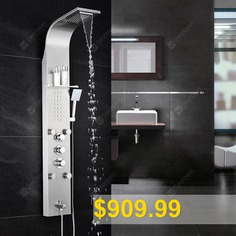 304 #Stainless #Steel #Shower #Screen #Constant #Temperature #Shower #Set #Wall #Mounted #Wall-mounted #Shower #Shower #Screen #- #6 #FUNCTION #THERMOSTAT #BRUSHED