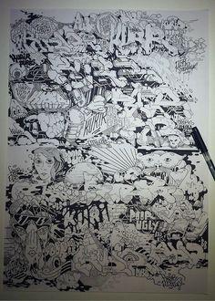 Tumblr #drawn #hand