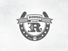 Rodeo_11 #horse #rodeo #shoe #letter #r #logo