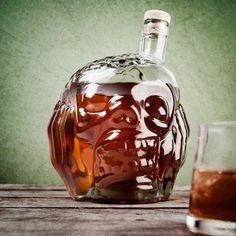 Zombie Head Decanter #tech #flow #gadget #gift #ideas #cool
