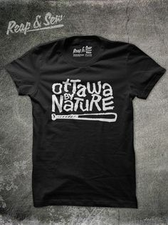 Reap And Sew Clothing #canada #design #graphic #shirt #ottawa #typography