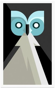 Lumadessa | Night Owl #josh #collection #print #illustration #gicle #owls #art #donation #brill