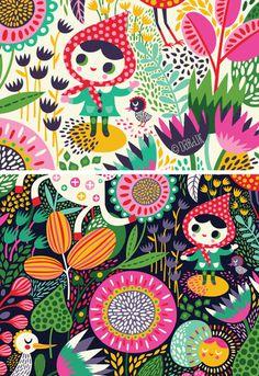 . #vectors #illustration #flower #girl