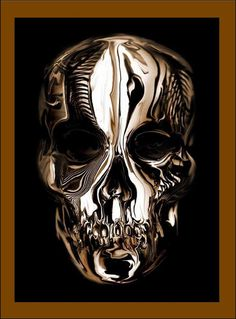 Alexander McQueen Savage Beauty #chrome #skull