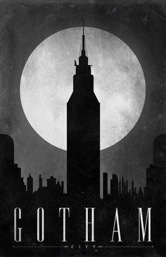 Gotham | Flickr - Photo Sharing! #gotham #poster #batman