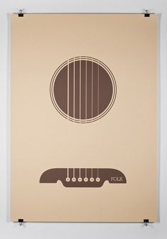 Music Genre Posters – Graphic Design inspiration on MONOmoda