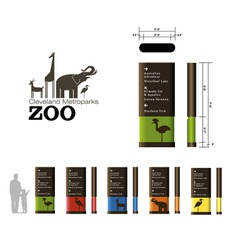 Wayfinding | Signage | Sign | Design | 动物园标识牌