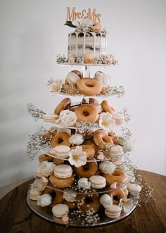 wedding cake toppers rustic