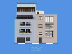 tlv buildings by avner gicelter