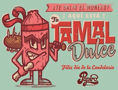 CANDELARIA on Behance #vector #mexican #illustration #vintage #art #tamal