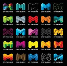 City of Melbourne #logos #polymorphic