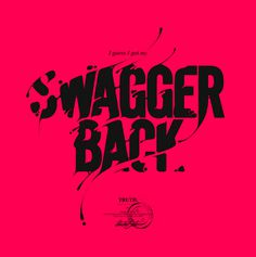 Swagger Back, by André Beato #inspiration #creative #red #design #graphic #typography
