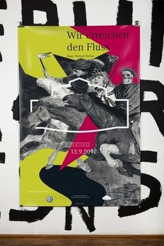 Fons Hickmann M23, Semperoper Dresden, 2012, 2013, plakate, poster, semperoper #white #print #color #german #black #poster #and #sketch