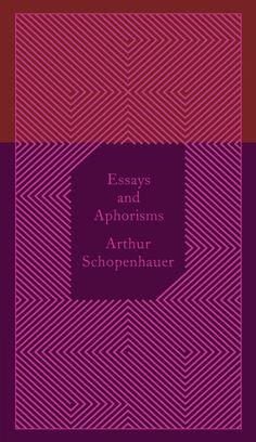 Penguin Classics Essays And Aphorisms: Arthur Schopenhauer: 9780141395913: Books - Amazon.ca