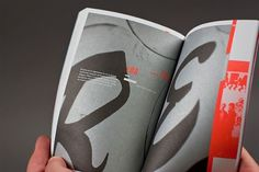 Typeforce 2 Exhibition Catalogue on the Behance Network #book #typography