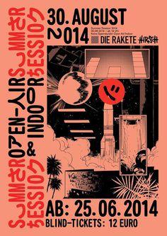 Studio Unfun #rakete #poster
