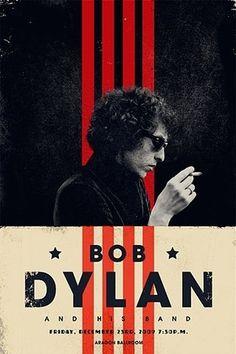 Design/Inspiration #dylan #bob #poster